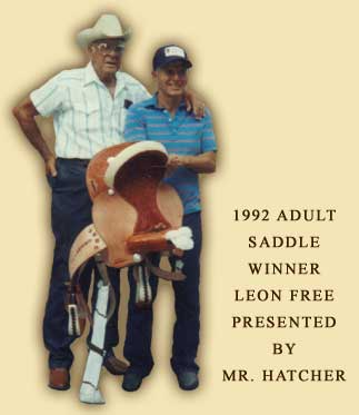 Adult Saddle Winner 1992